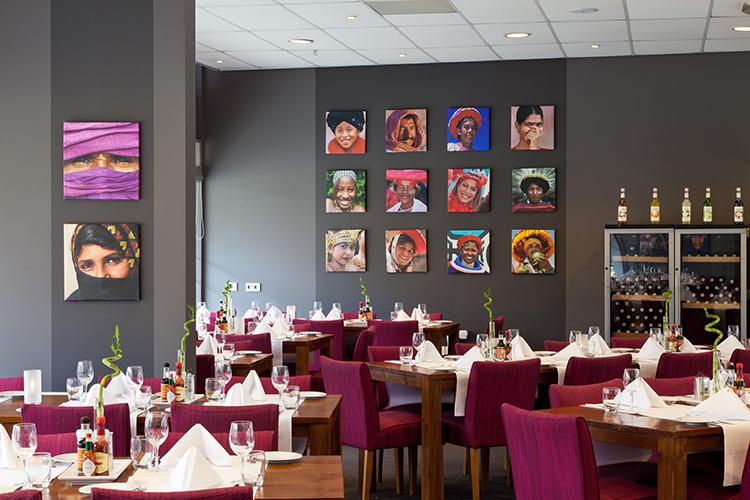 Restaurant Conferentiecentrum Kontakt der Kontinenten